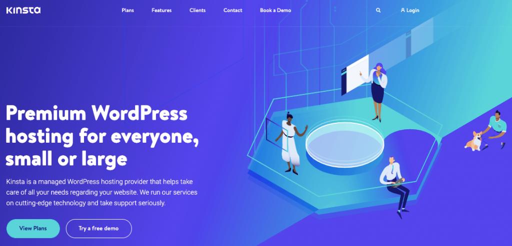 kinsta- premium wordpress hosting