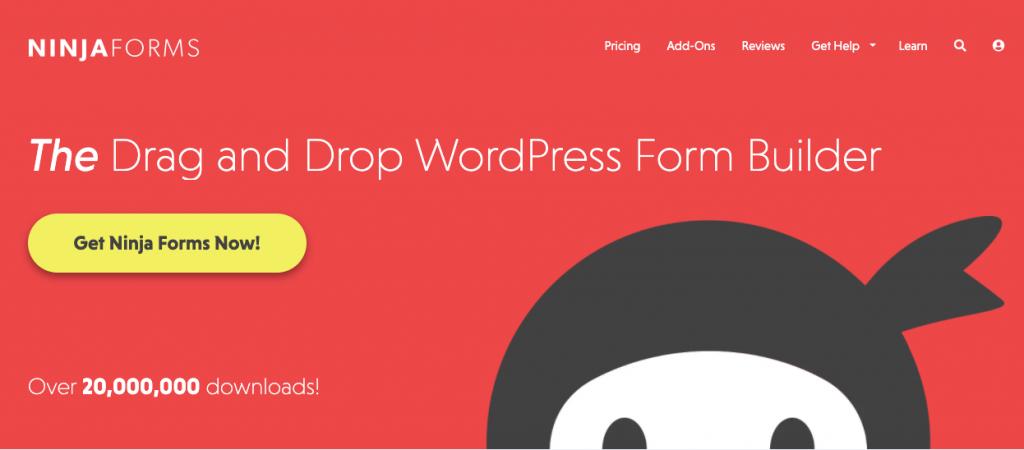 Ninja Forms- best WordPress contact form