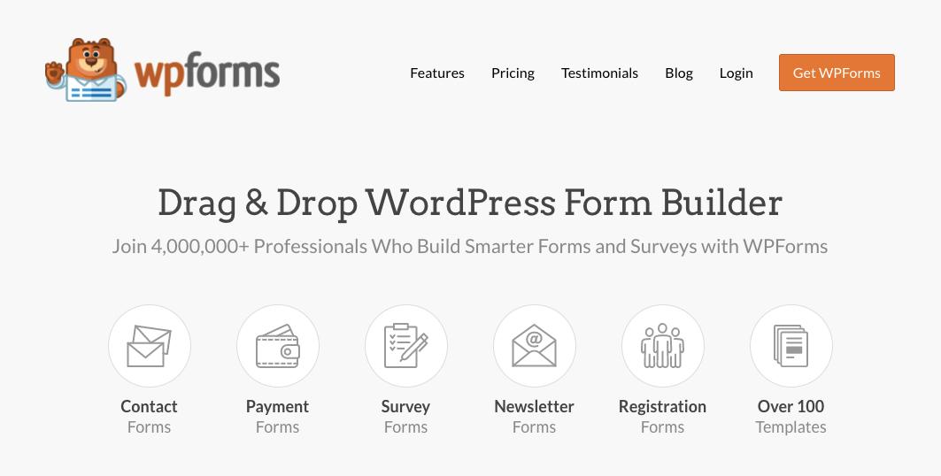 wpforms- best form builder plugin for wordpress