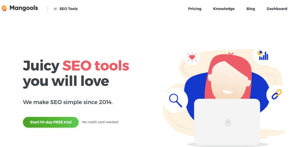 mangools- seo tools for WordPress