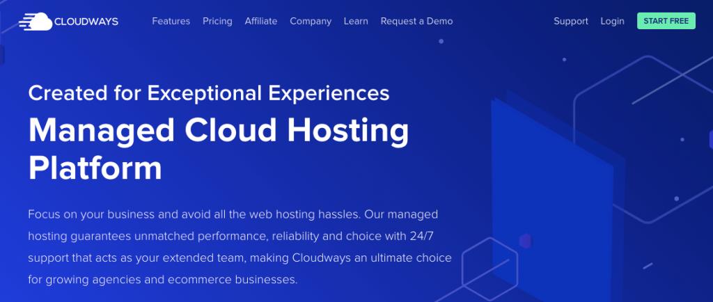 cloudways- wordpres managed hosting
