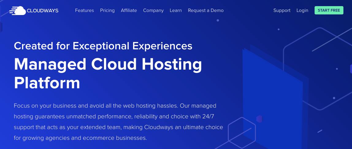 cloudways- wordpress managed hosting