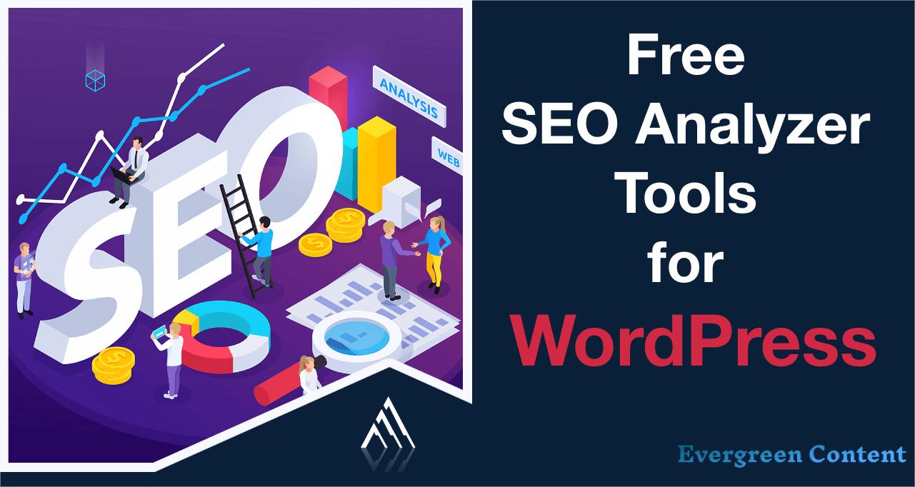 free SEO analyzer tools for WordPress